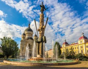 Ansamblul monumental Matia Corvin din Cluj-Napoca